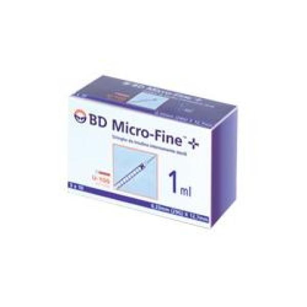 BD Siringa per Insulina 1 ml 29G 12,7 mm 30 pezzi