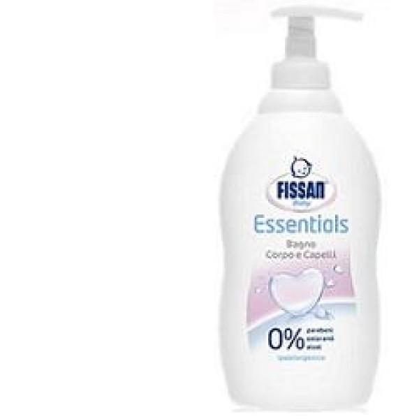 Fissan Baby Essentials Bagno Corpo e Capelli Detergente Neonati e Bambini 400 ml