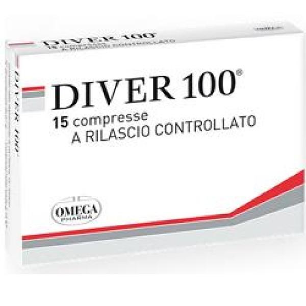 Diver 100  15 Compresse - Integratore Alimentare