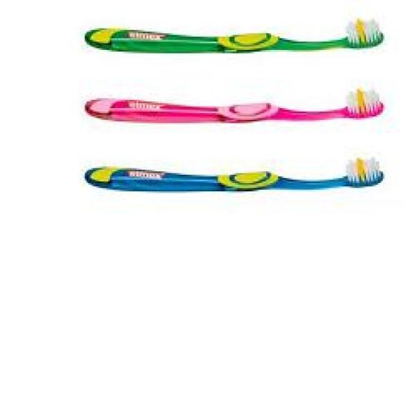 Elmex Junior 6-12 Anni Spazzolino Manuale Bambini Colori Assortiti