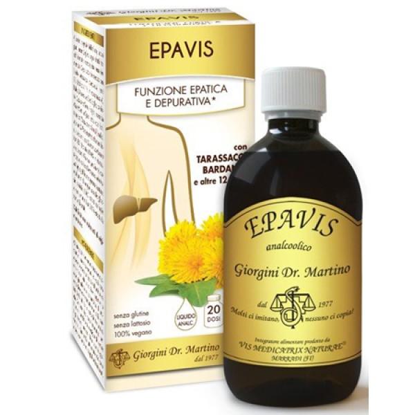Epavis Liquido Analcolico 500 ml Dr. Giorgini - Integratore Epatico