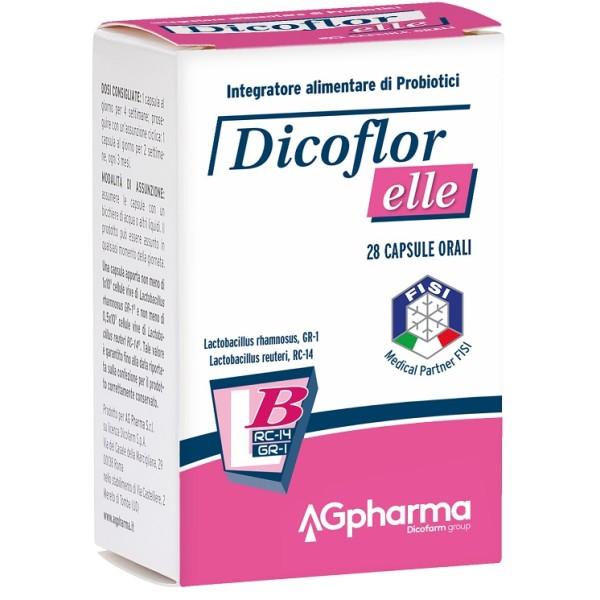 Dicoflor Elle 28 Capsule - Integratore Flora Batterica