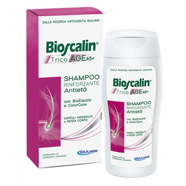 Bioscalin Tricoage 45+ Shampoo Rinforzante Donna 200ml