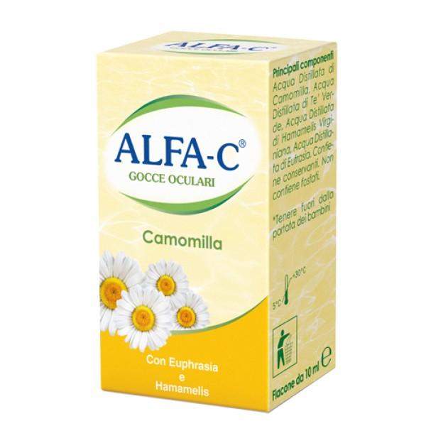 Alfa C Gocce Oculari Collirio Idratante alla Camomilla 10 ml