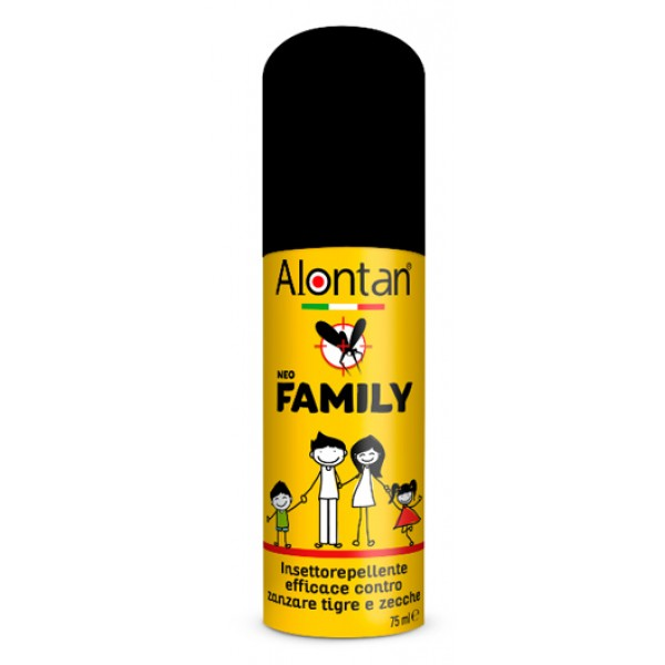 Alontan Spray Rerpellente contro Zecche e Zanzare 75 ml