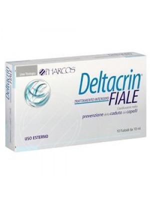 Pharcos Deltacrin 10 Fiale - Trattamento Intensivo Prevenzione Anticaduta Capelli