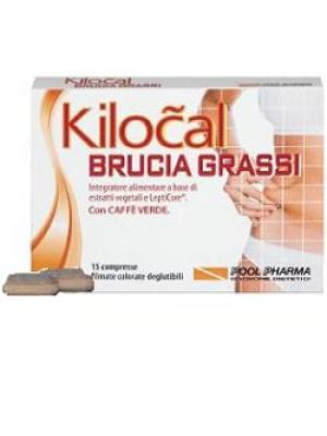 Kilocal Brucia Grassi 15 Compresse - Integratore Dimagrante