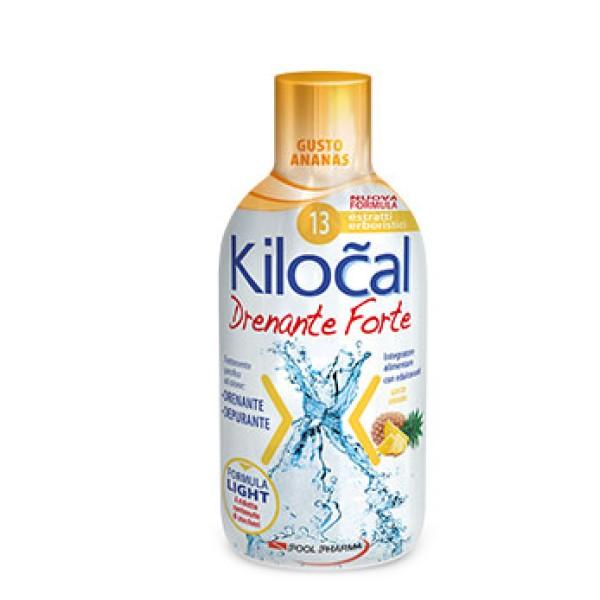 Kilocal Drenante Forte Ananas Integratore Depurativo 500 ml
