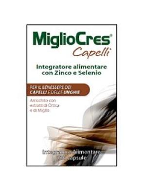 Migliocres Capelli Piu' 120 capsule | Integratore Capelli e Unghie