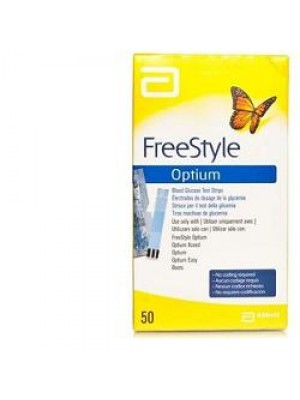 Freestyle Optium Strisce Reattive Glicemia 25 pezzi