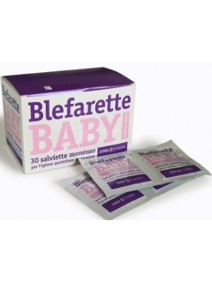 Blefarette Baby Salviette Oculari Detergenti 30 Pezzi