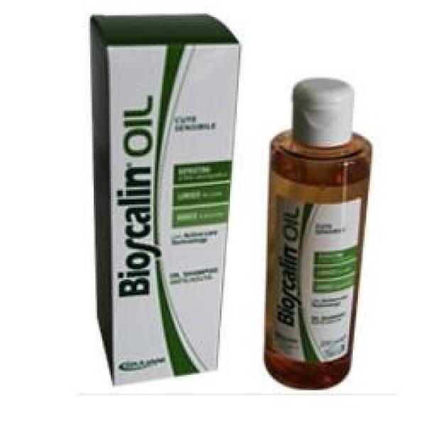 Bioscalin Oil Shampoo Fortificante Cuoio Capelluto Sensibile 200ml