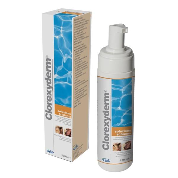 Clorexyderm Soluzione Schiuma Disinfettante Veterinaria 200 ml