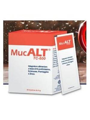 Mucalt TC-600 20 Bustine - Integratore Benessere Vie Respiratorie