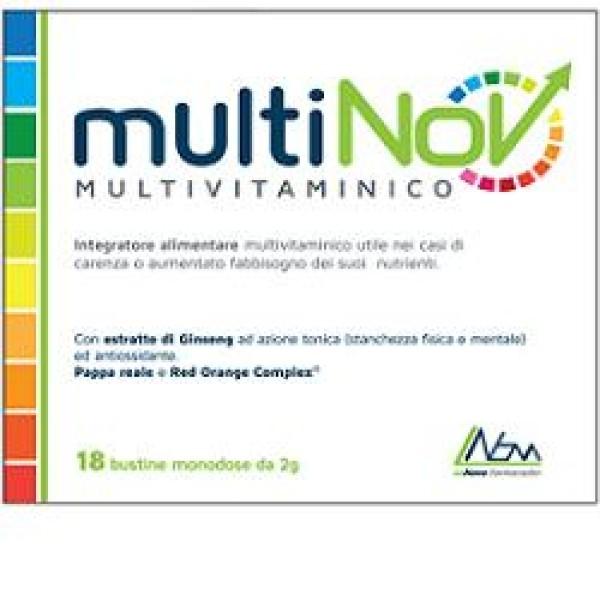 Multinov 18 Bustine - Integratore Multivitaminico
