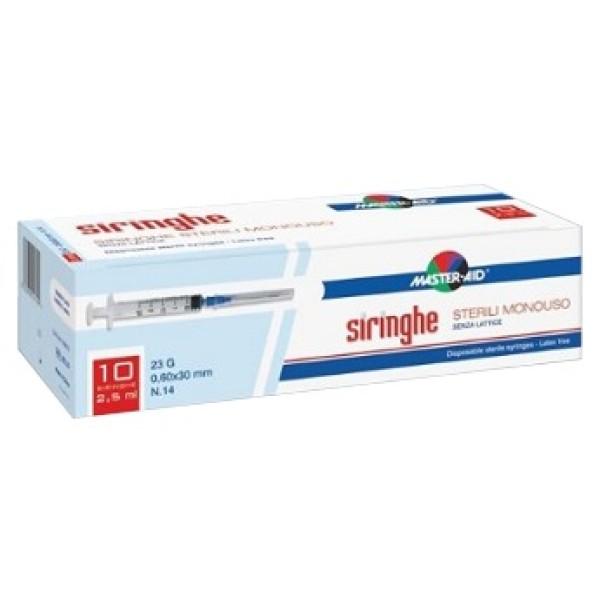 Master-Aid Siringa Per Venipuntura 5 ml G23 10 Pezzi