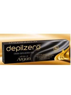 Depilzero Argan Crema Depilatoria Viso all'Olio di Argan 50 ml