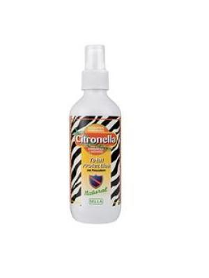 Sella Citronella Total Protection Famiglia Spray Antizanzare 200 ml