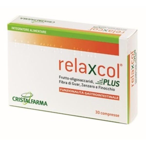 Relaxcol Plus 30 Compresse - Integratore Funzionalita' Gastrointestinale