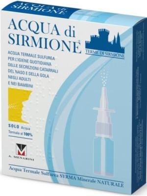 Acqua di Sirmione Soluzione Sulfurea Spray 6 Flaconcini da 15ml