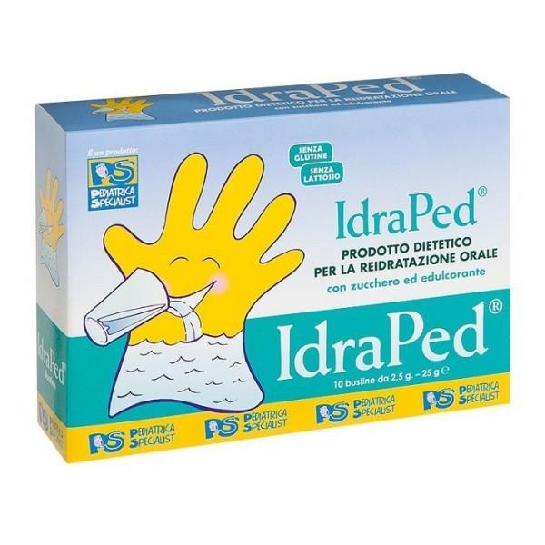 Idraped 10 Bustine - Prodotto Dietetico per la Reidratazione Orale