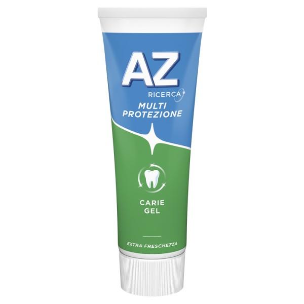 Az Protezione Carie Gel + Fluoro Attivo Dentifricio 75 ml