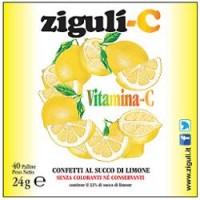 Ziguli' C Limone 40 Confetti - Integratore Vitamina C