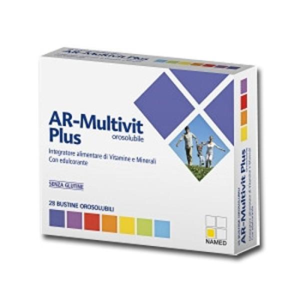 Named AR Multivit Plus Integratore Orosolubile 28 Bustine