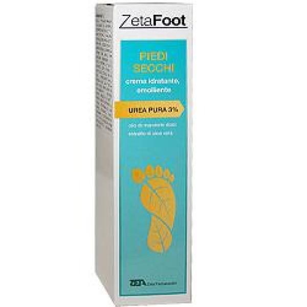 Zeta Footing Piedi Secchi Crema Idratante Emolliente 100 ml