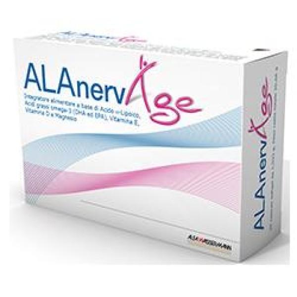 Alanerv Age Integratore Antiossidante 20 Capsule SoftGel