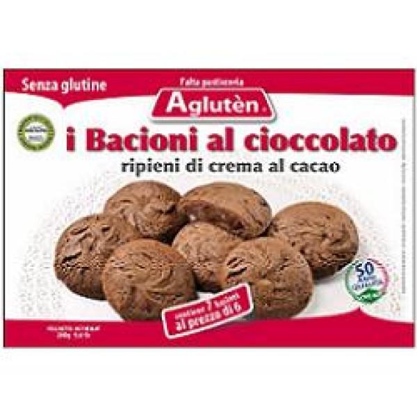 Agluten Bacioni Cioccolato Senza Glutine 160 grammi