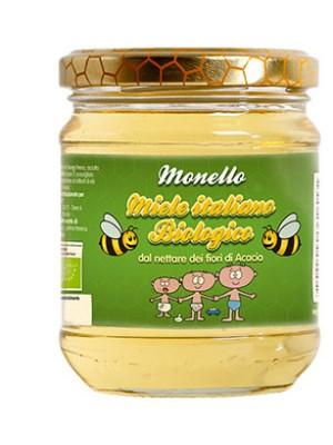 Monello Miele d'Acacia Biologico 50 grammi