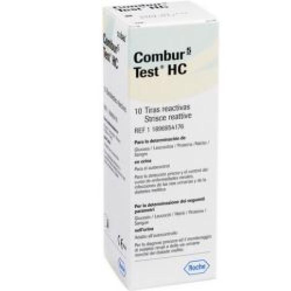 Combur5 Test HC Rivelazioni Paramentri nelle Vie Urinarie 10 Strisce Reattive