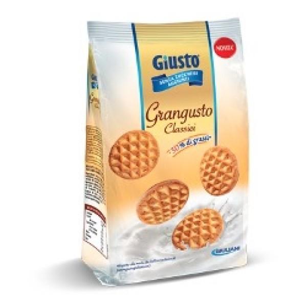 Giusto Senza Zuccheri Aggiunti GranGusto Classici Frollini 350 grammi