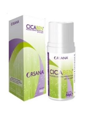 Cicaben Polvere Dermo Protettiva Lenitiva per la Pelle 50 grammi