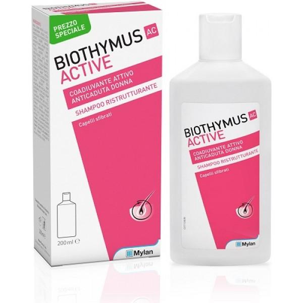 Biothymus AC Active Shampoo Donna Ristrutturante 200ml