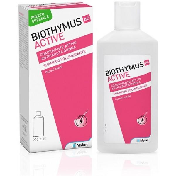 Biothymus AC Active Shampoo Donna Volumizzante 200ml