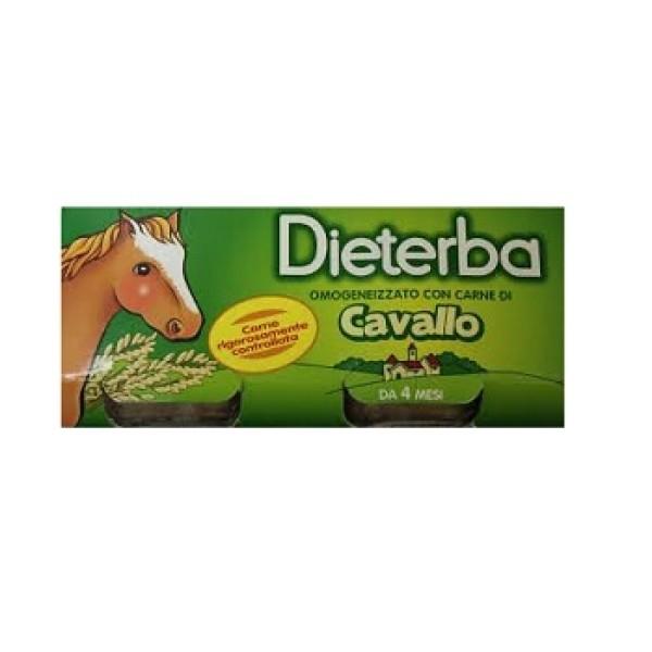 Dieterba Omogeneizzato Cavallo 3 x 80 grammi