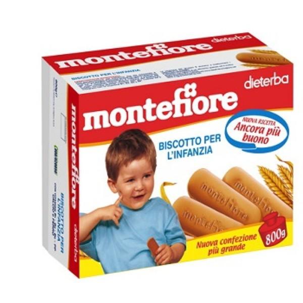 Dieterba Montefiore Biscotti per l'Infanzia 800 grammi