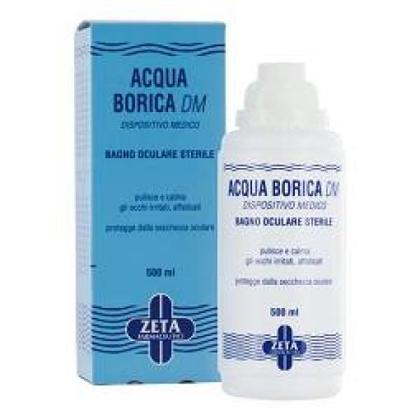 Acqua Borica Lenitiva Zeta per Bagno Oculare 500 ml