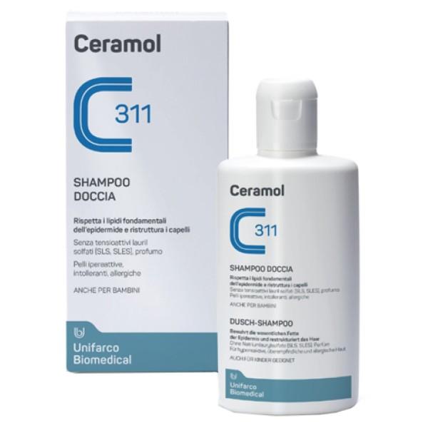 Ceramol 311 Shampoo Doccia Detergente Corpo e Capelli 200 ml