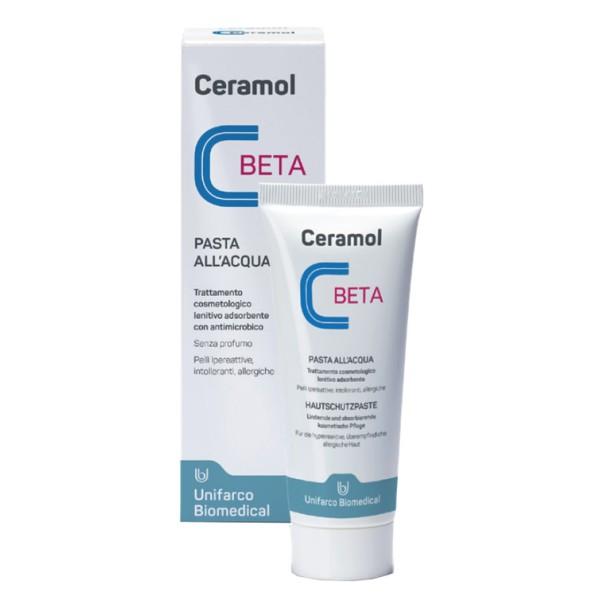 Ceramol Beta Pasta all'Acqua Trattamento Lenitivo e Assorbente 75 ml