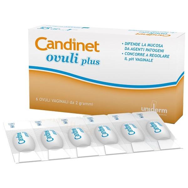 Candinet Ovuli Vaginali 6 pezzi