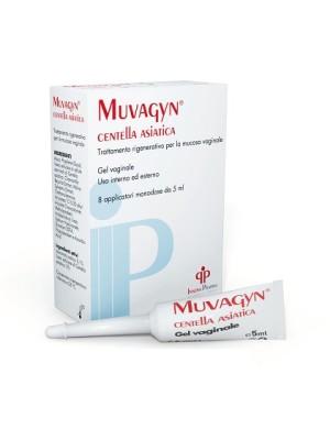 Muvagyn Centella Asiatica Gel Vaginale 8 x 5 ml