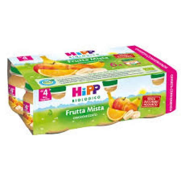Hipp Bio Omogeneizzato Frutta Mista 6 x 80 grammi