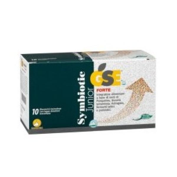 Gse Symbiotic Junior Forte 10 Flaconcini Monodose - Integratore Intestinale
