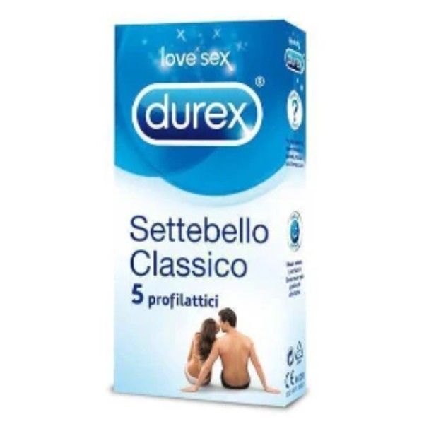 Durex Settebello Classico 5 Profilattici