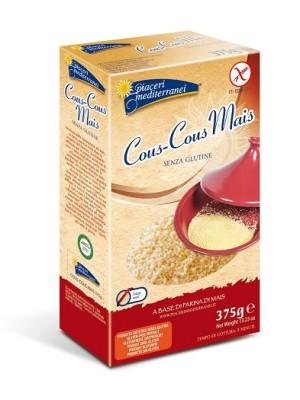 Piaceri Mediterranei Pasta di Mais Cous Cous Senza Glutine 375 grammi