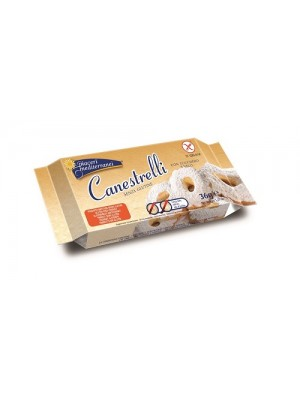 Piaceri Mediterranei Canestrelli Senza Glutine 36 grammi
