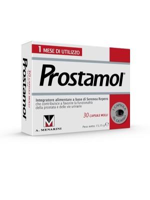 Prostamol Integratore Alimentare Prostata 30 Capsule Molli
